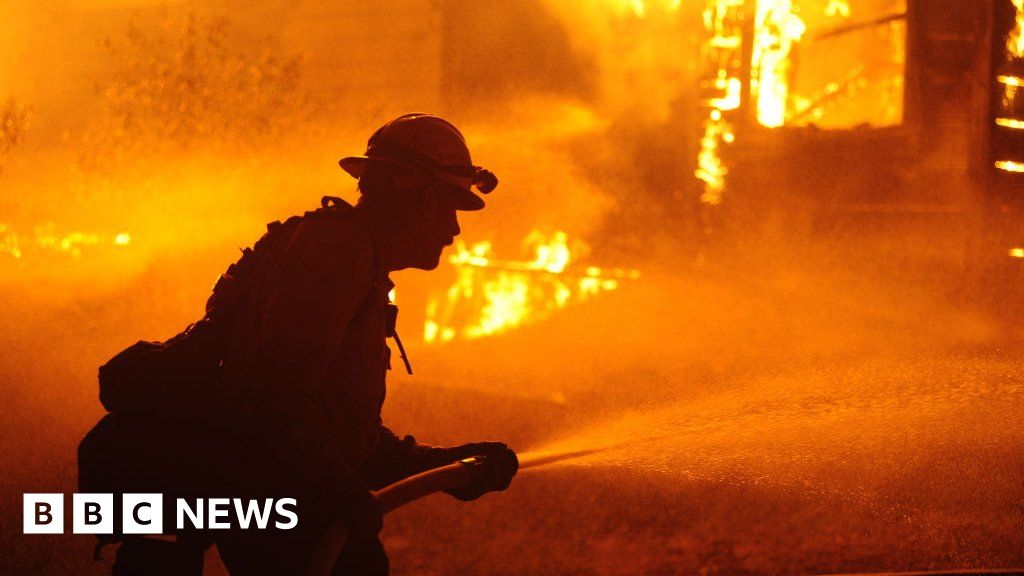 California Gold Rush town 'destroyed' by state's largest wildfire