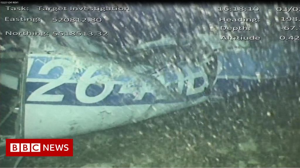 Body seen in Sala plane wreckage thumbnail