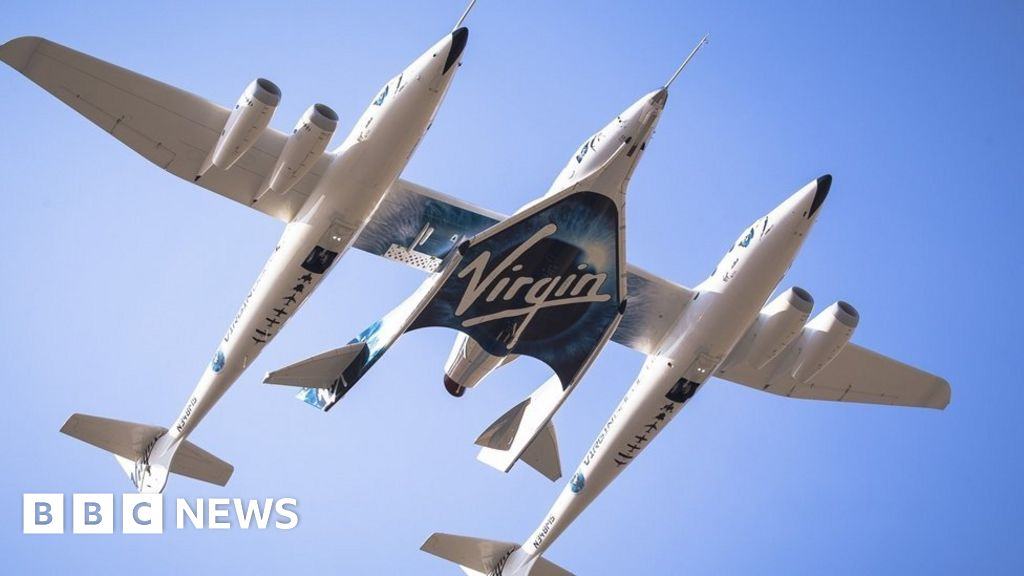 Virgin Galactic takes off in bid to reach space for first time