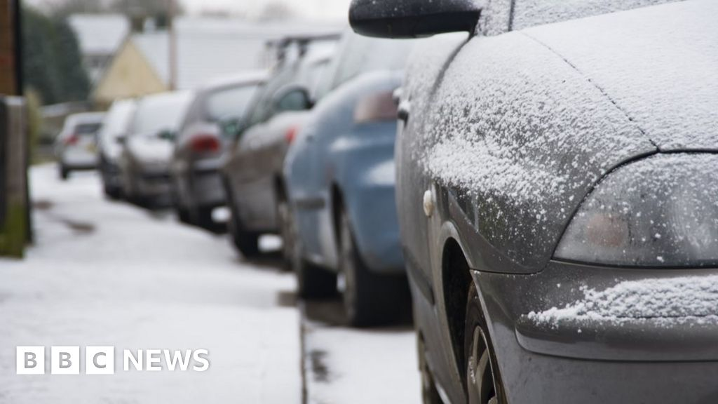 Snow and ice forecast across much of UK