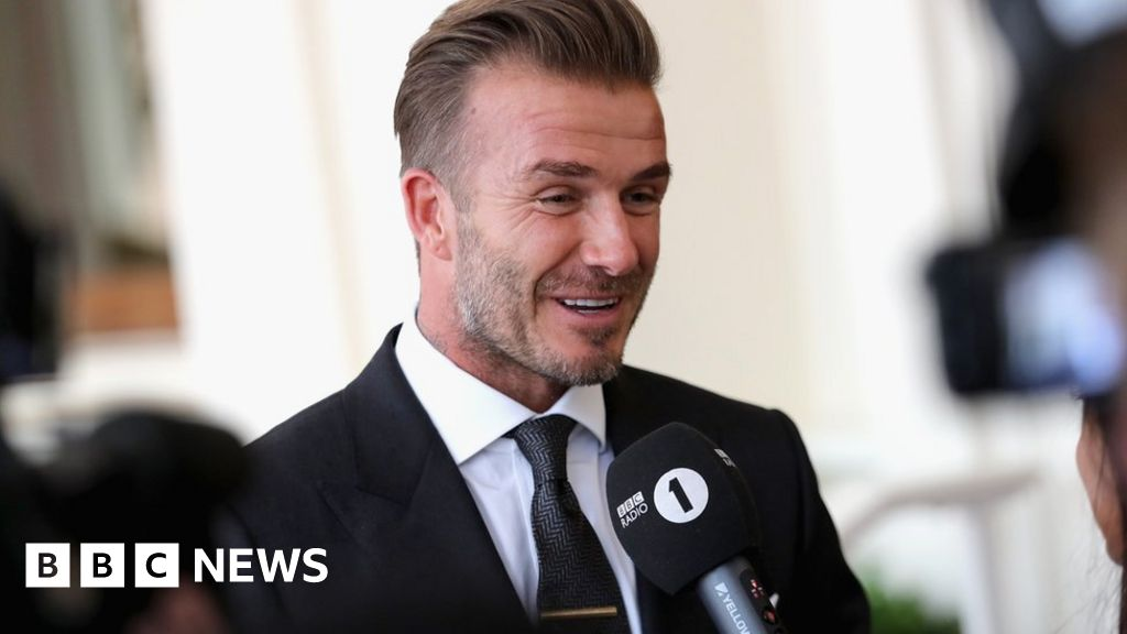Euro 16 David Beckham Believes England Are Due A Big Performance In France c News