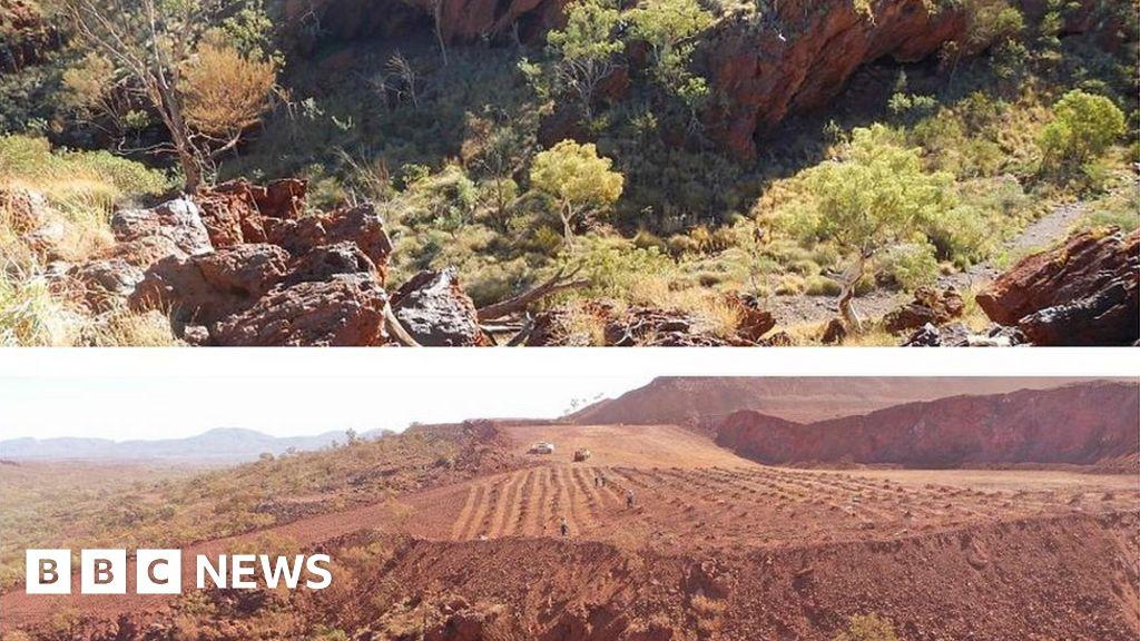 Rio Tinto bosses lose bonuses over Aboriginal cave destruction