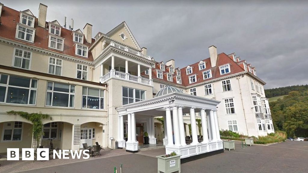 A Grim Two Weeks At The Hotel Caledonia Bbc News