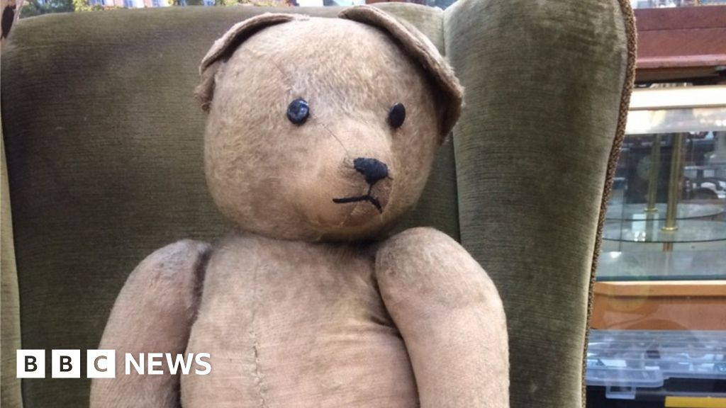 Stafford man s weary World War Two teddy bear up for auction
