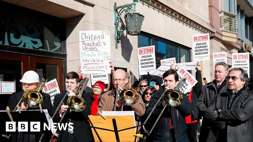 Chicago Symphony Orchestra musicians go on strike - BBC News | SPR
