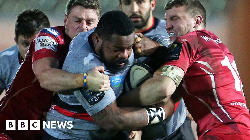 85be38cda How big will rugby players get? - BBC News