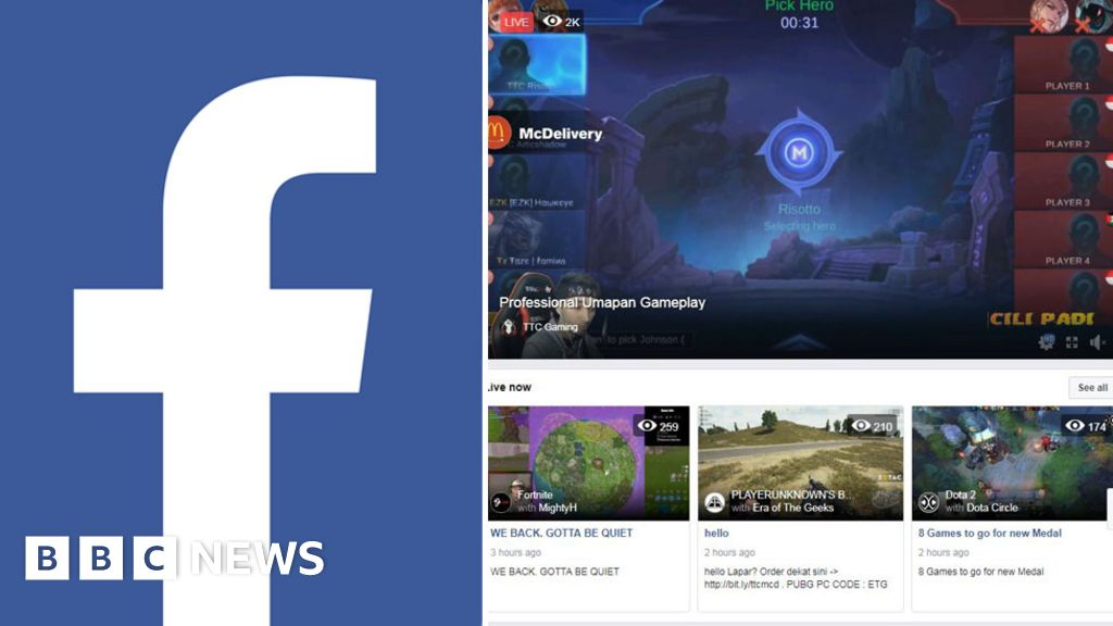 Facebook.gg: New video game streaming service to rival Twitch