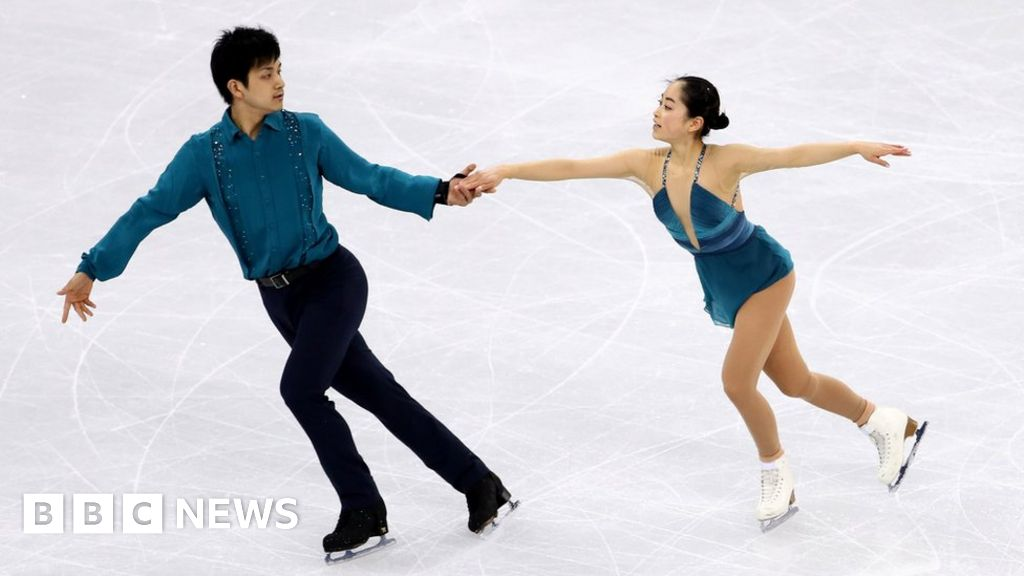 "2018 Japanese Olympic Pair Skate Routine to ""Yuri on Ice!"" 😍"