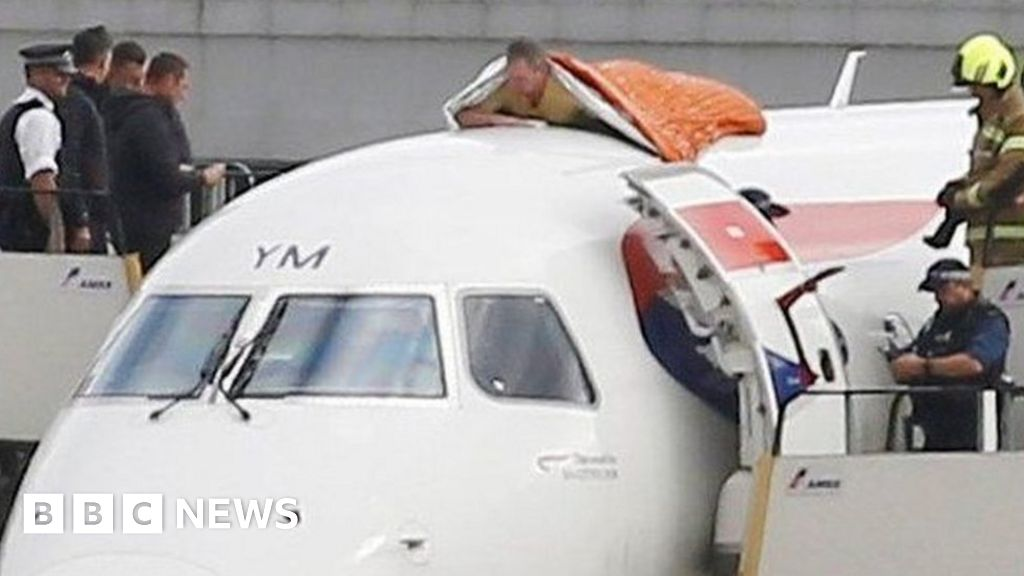 Extinction Rebellion: Paralympian James Brown guilty over plane stunt