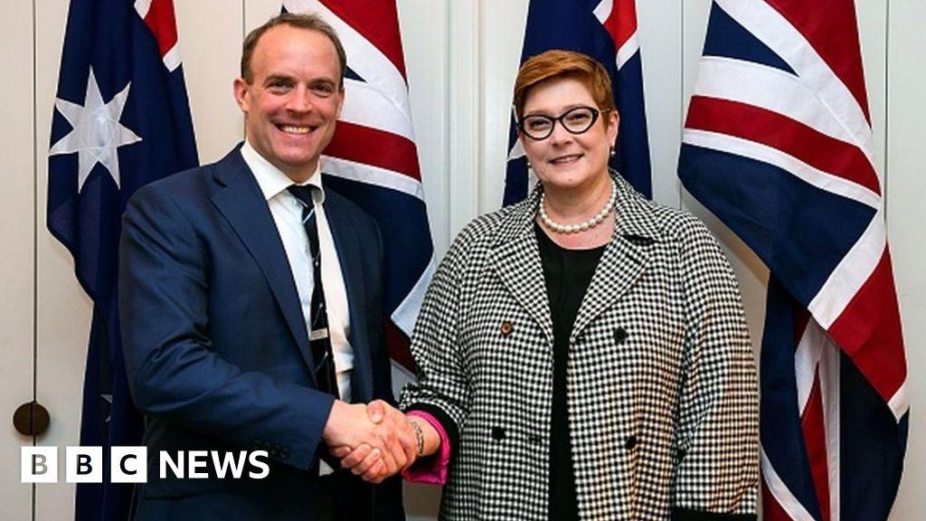 Australian MPs cancel UK trip amid Huawei leak row