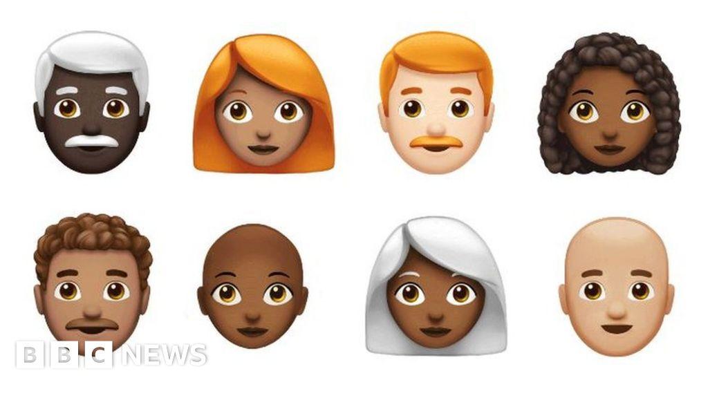Apple Unveils Its Latest Emojis On World Emoji Day Bbc News
