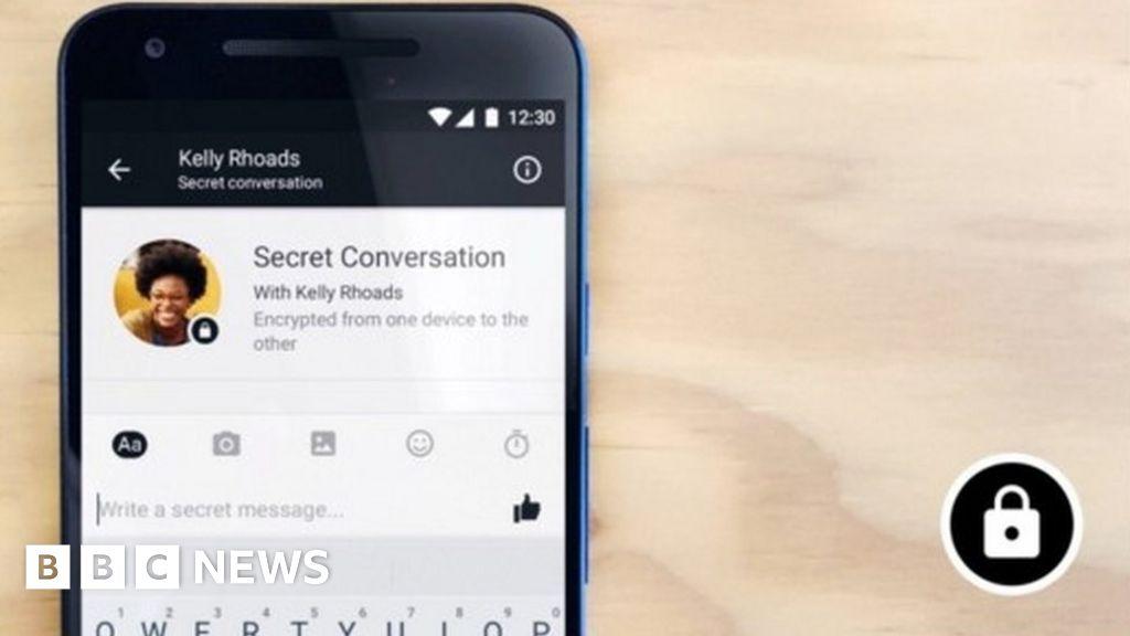 Bbc News Facebook: Facebook Tests 'secret Message' Service