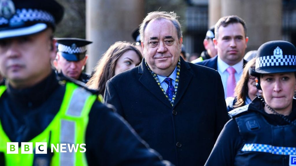 Salmond in court ahead of sex offences trial