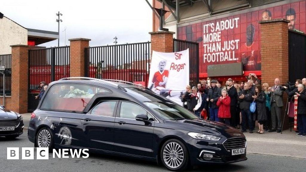 Roger Hunt funeral: Liverpool legends gather for service