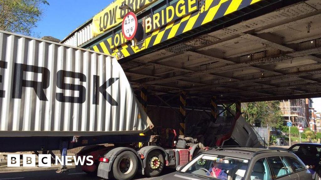 Low bridge crash