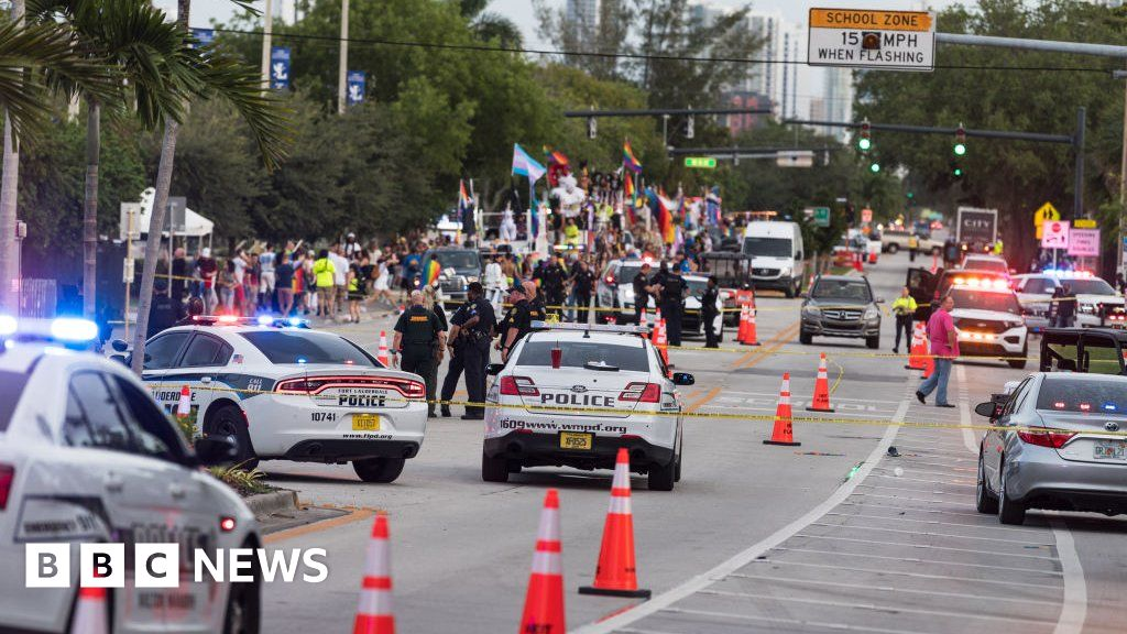 After a driver fell in a Florida Pride parade