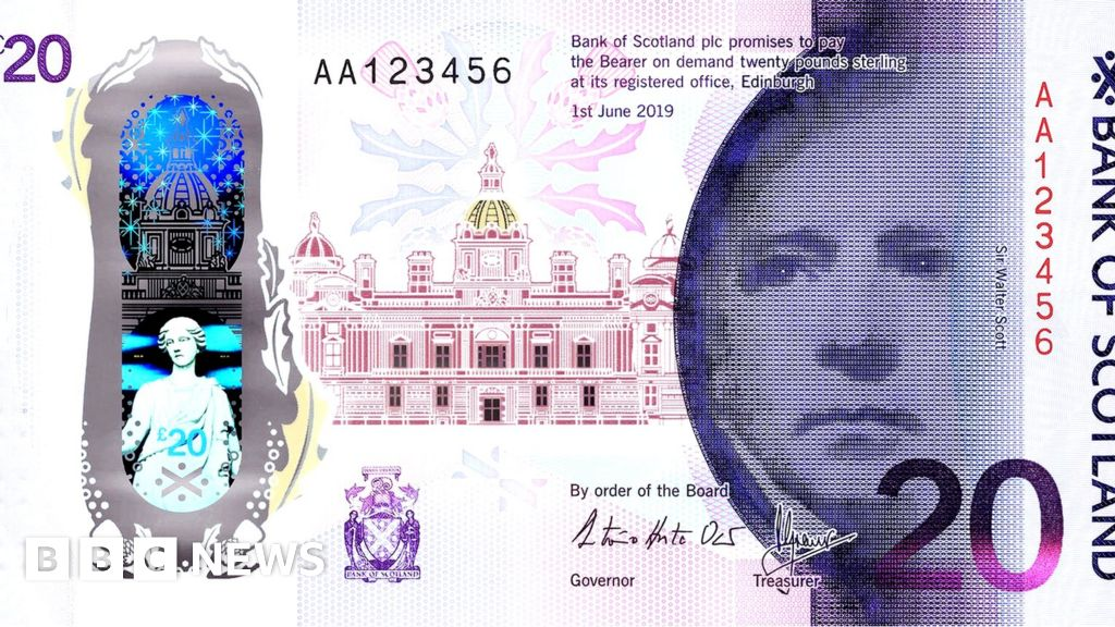 Queensferry Crossing celebrated on new £20 note