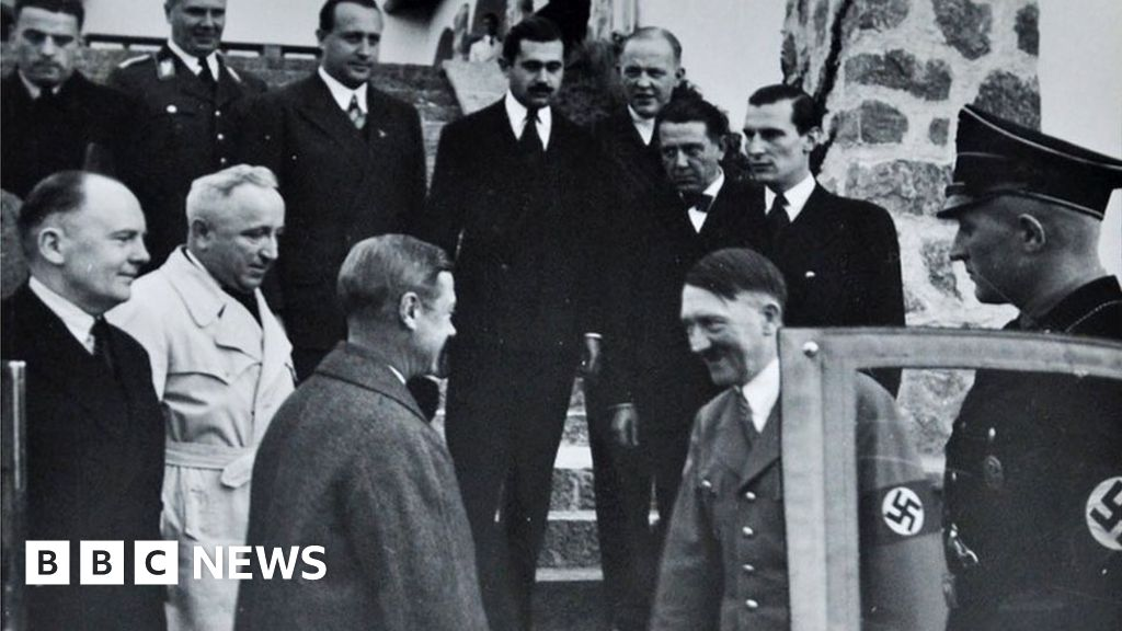 When the Duke of Windsor met Adolf Hitler - BBC News