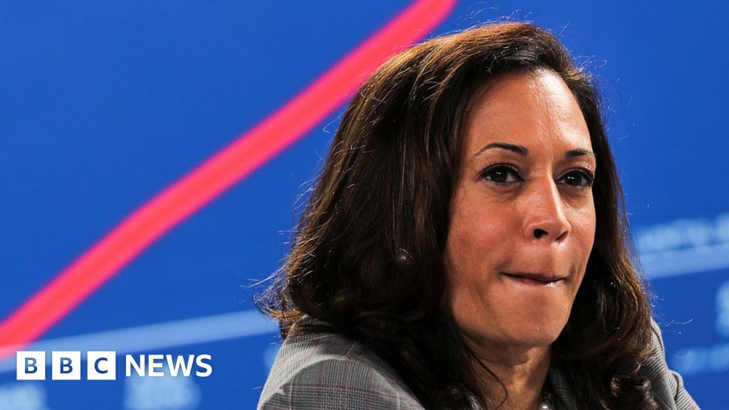 US Election 2020: Kamala Harris targeted by false conspiracy theories - BBC  News