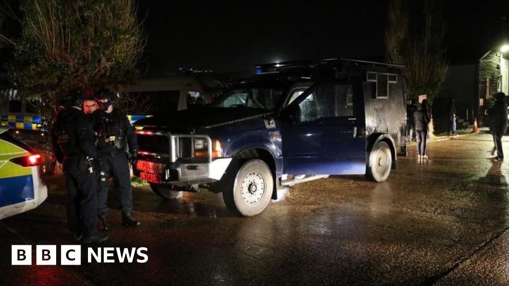 Hundreds of officers in raids over £4m car thefts