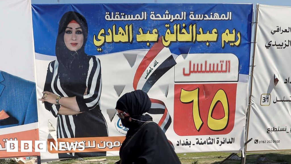 Iraqis vote in first parliamentary election since 2019 mass protests