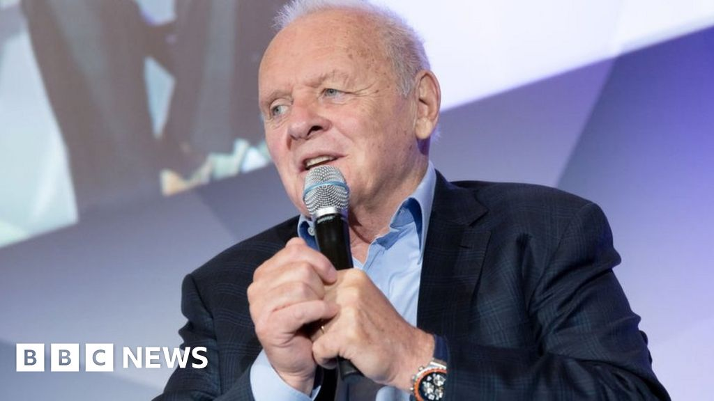 Sir Anthony Hopkins opens up on alcohol battle - BBC News