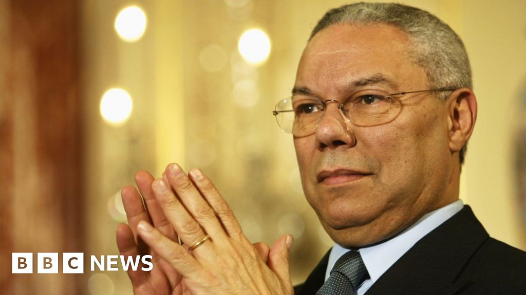 Colin Powell: From Vietnam vet to secretary of state