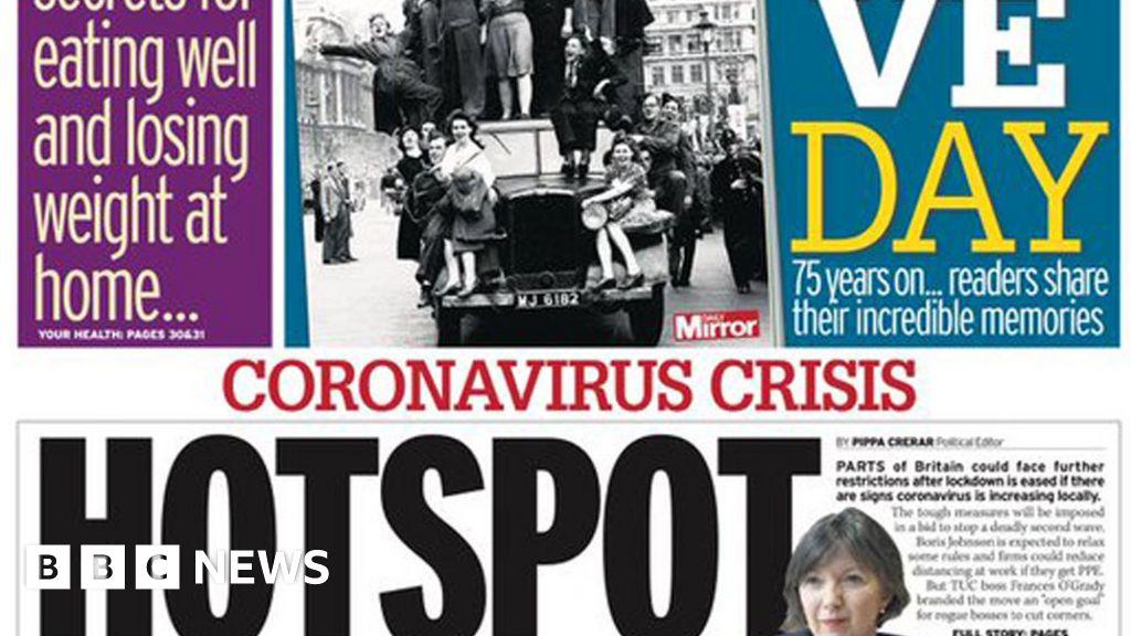 Headlines: Leaked back-to-work-coronavirus plan and NHS app