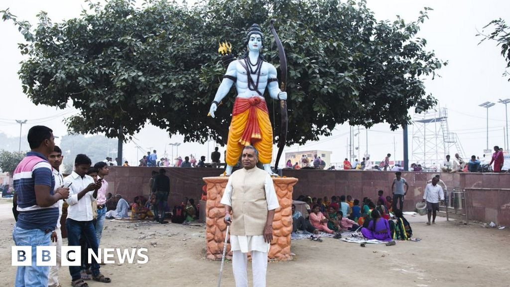 Ayodhya verdict: The man who helped Lord Ram win - BBC News