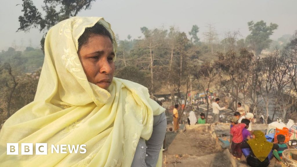 Rohingya refugee camp fire: Several dead, hundreds missing and thousands homeless