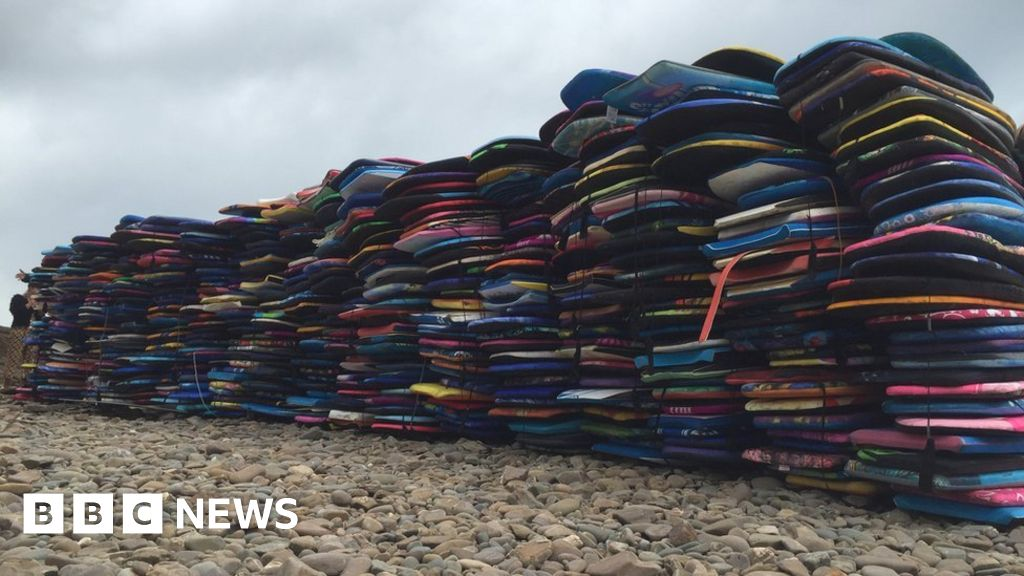 Wooden body boards rented out to reduce pollution