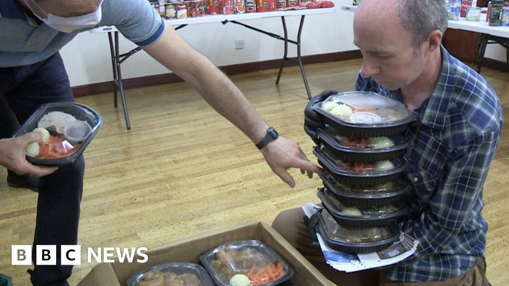 New challenges for lockdown meal delivery group