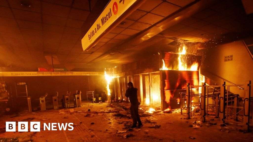 Chile's capital in state of emergency amid unrest