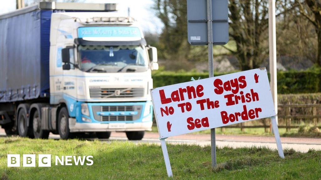 Brexit: Unionist leaders unite in NI Protocol opposition