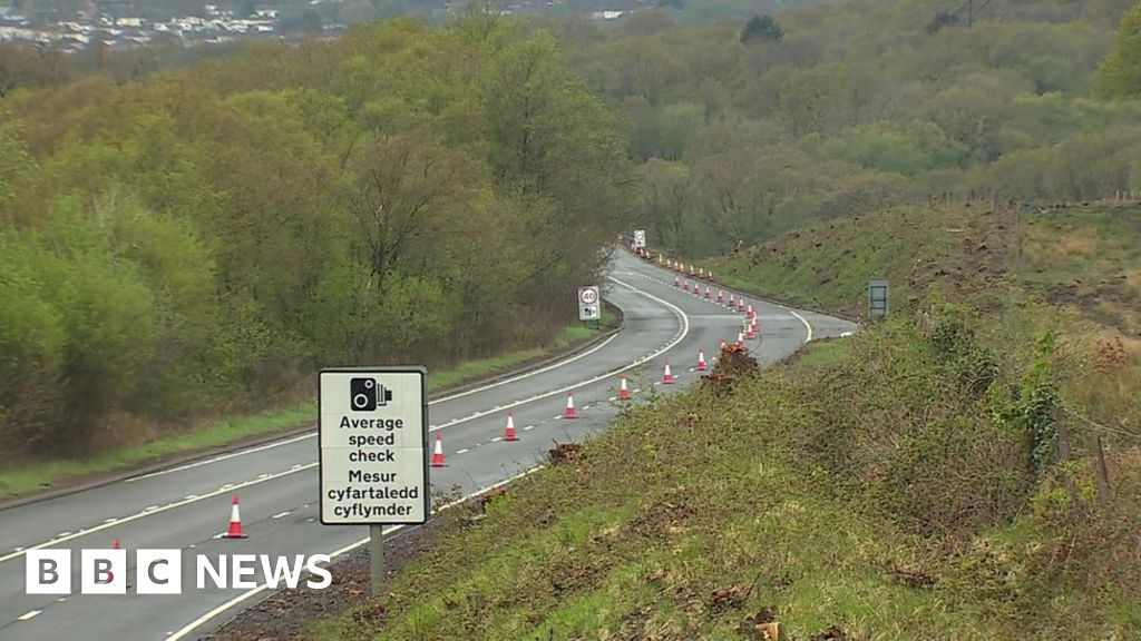 Heads of the Valleys road reopens after four hurt in crash