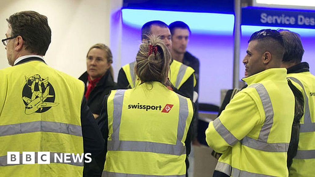 Coronavirus: Swissport-set to the halving of their workforce UK