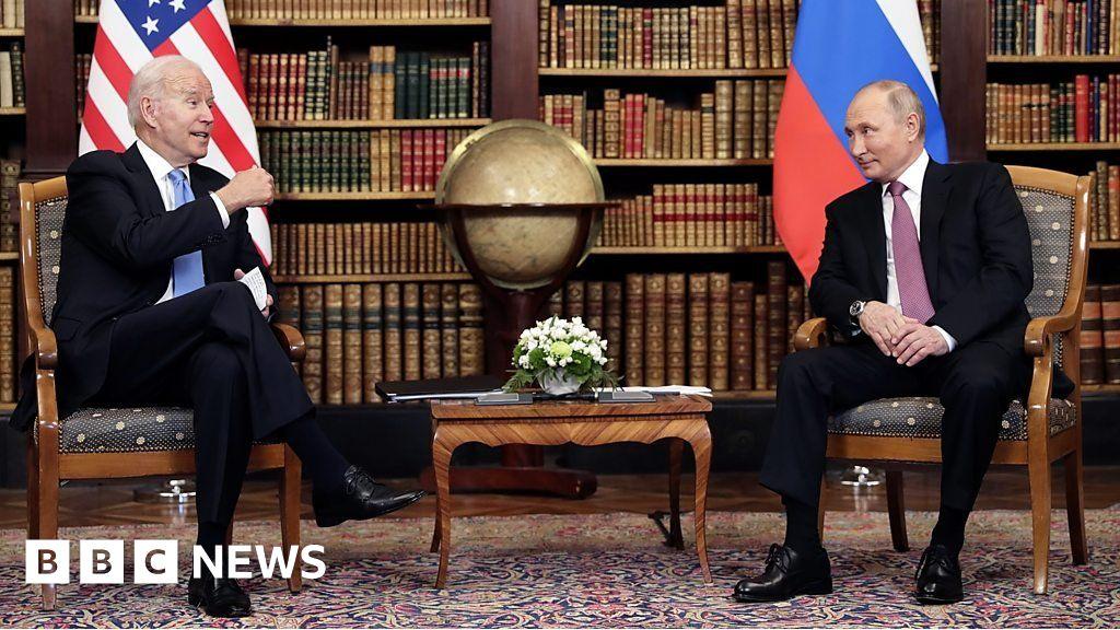 Biden-Putin summit: Presidents meet face to face