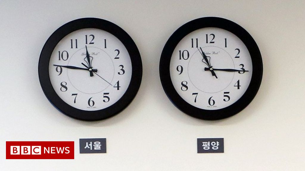 North Korea changes its time zone to match South Korea