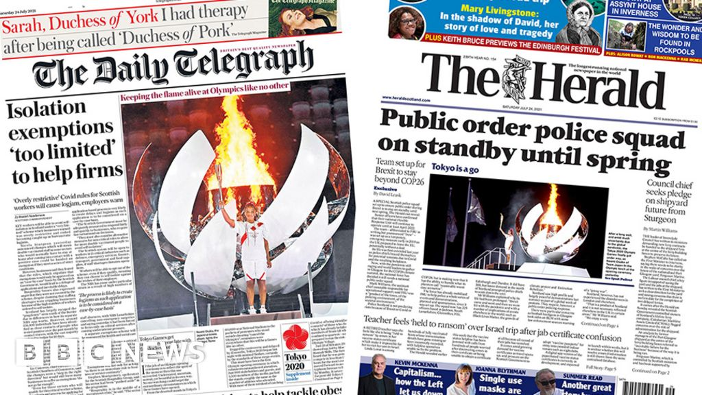 Scotland's papers: Covid isolation exemptions and the Brexit police squad