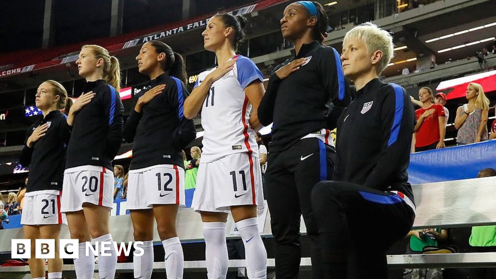 George Floyd: US-soccer-tipping prohibition of players, kneeling