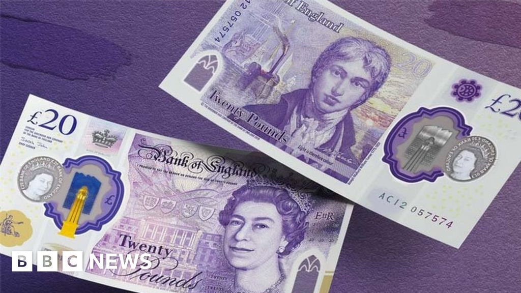 New £20 featuring painter Turner enters circulation