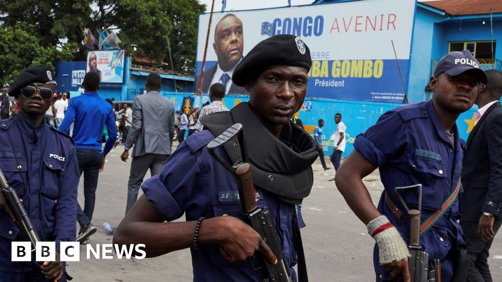 Police deploy near DRC candidate's home