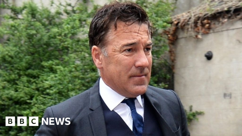 Dean Saunders in prison for refusing the breath test