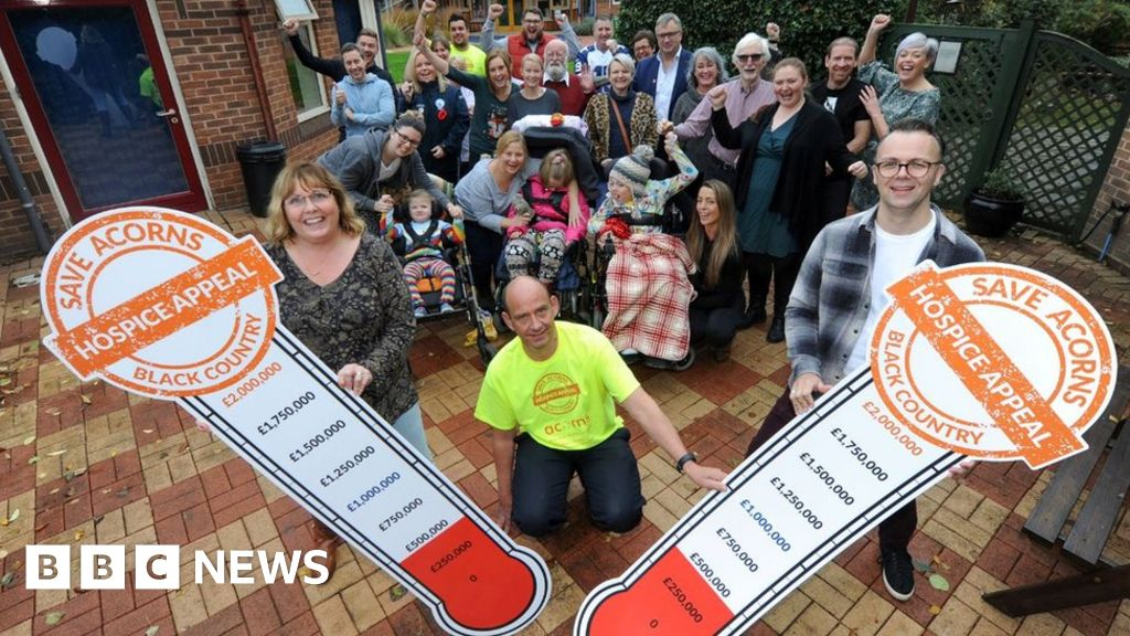 Hope for Acorns Children's Hospice in Walsall after fundraising - BBC News