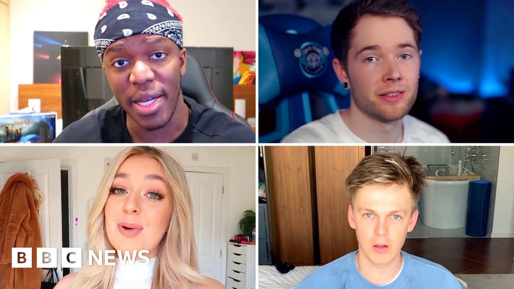 Coronavirus: YouTube stars are asking fans to stay home