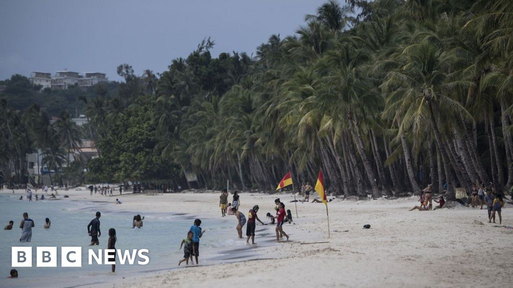 Boracay Beach: Section closed after tourist filmed burying nappy