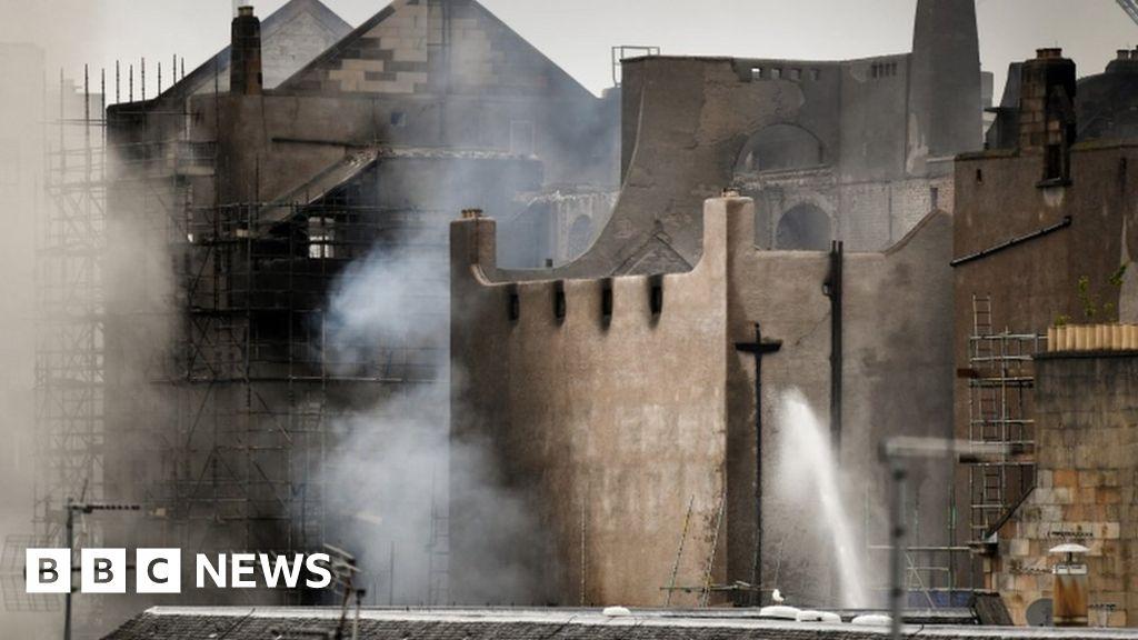 Glasgow art school blaze: Fire chiefs 'guarantee' to find cause