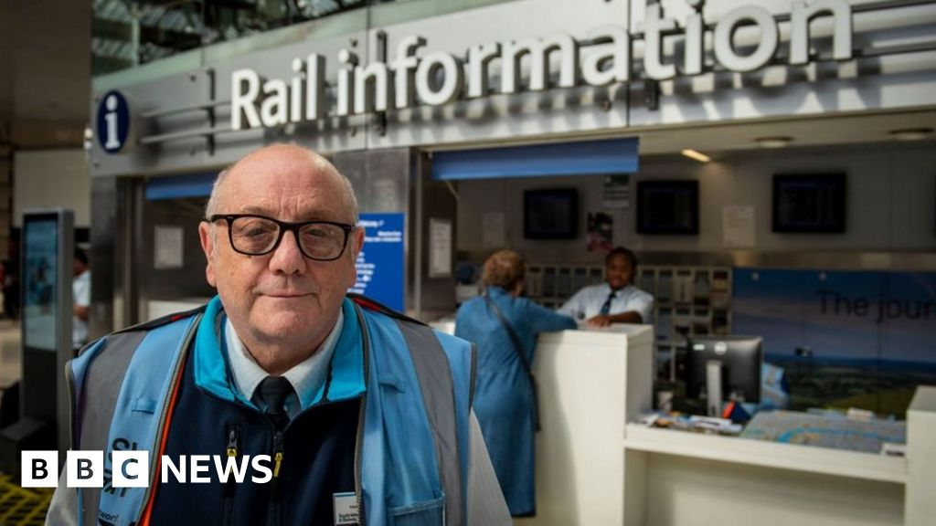 The man has worked at Waterloo for 58 years and counting