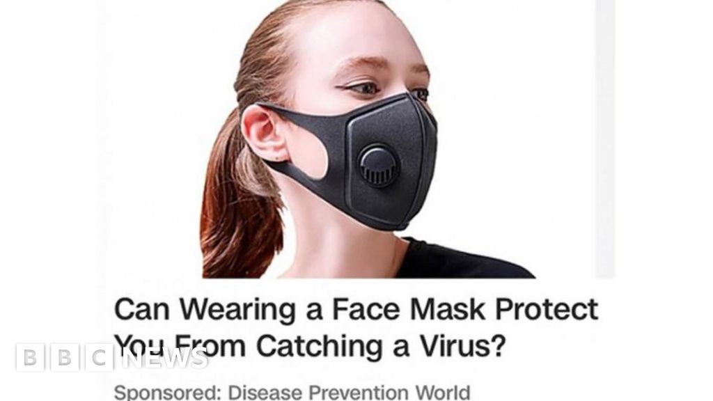 face mask virus