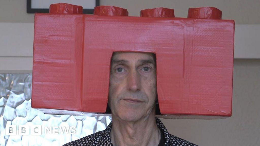 Cardboard box heads transformed my confidence